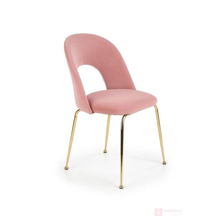 Krzesło K-385 Halmar różowy