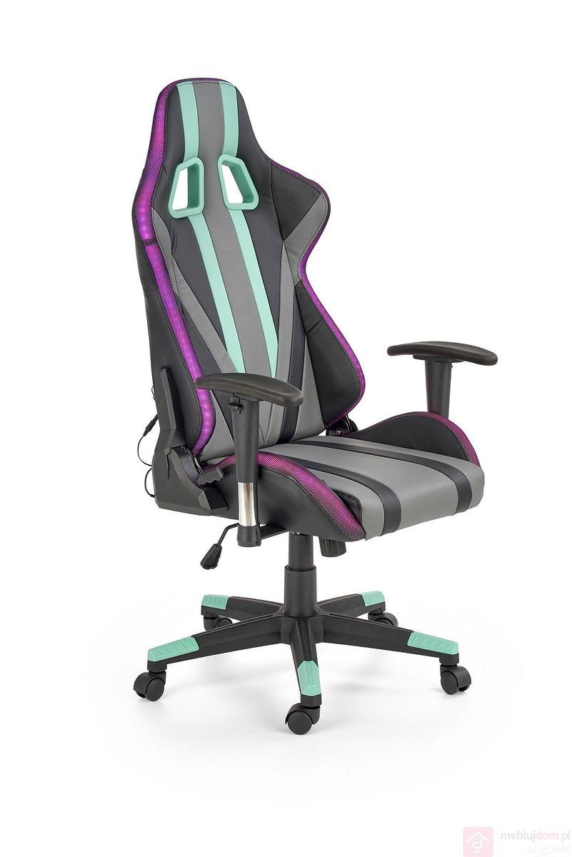 Fotel gamingowy LED + Głośnik FACTOR Halmar