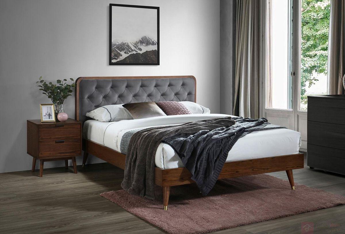 Łóżko CASSIDY 160 Halmar z boku