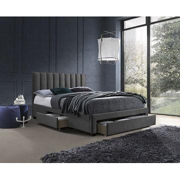 Łóżko GRACE 160 Halmar popielaty