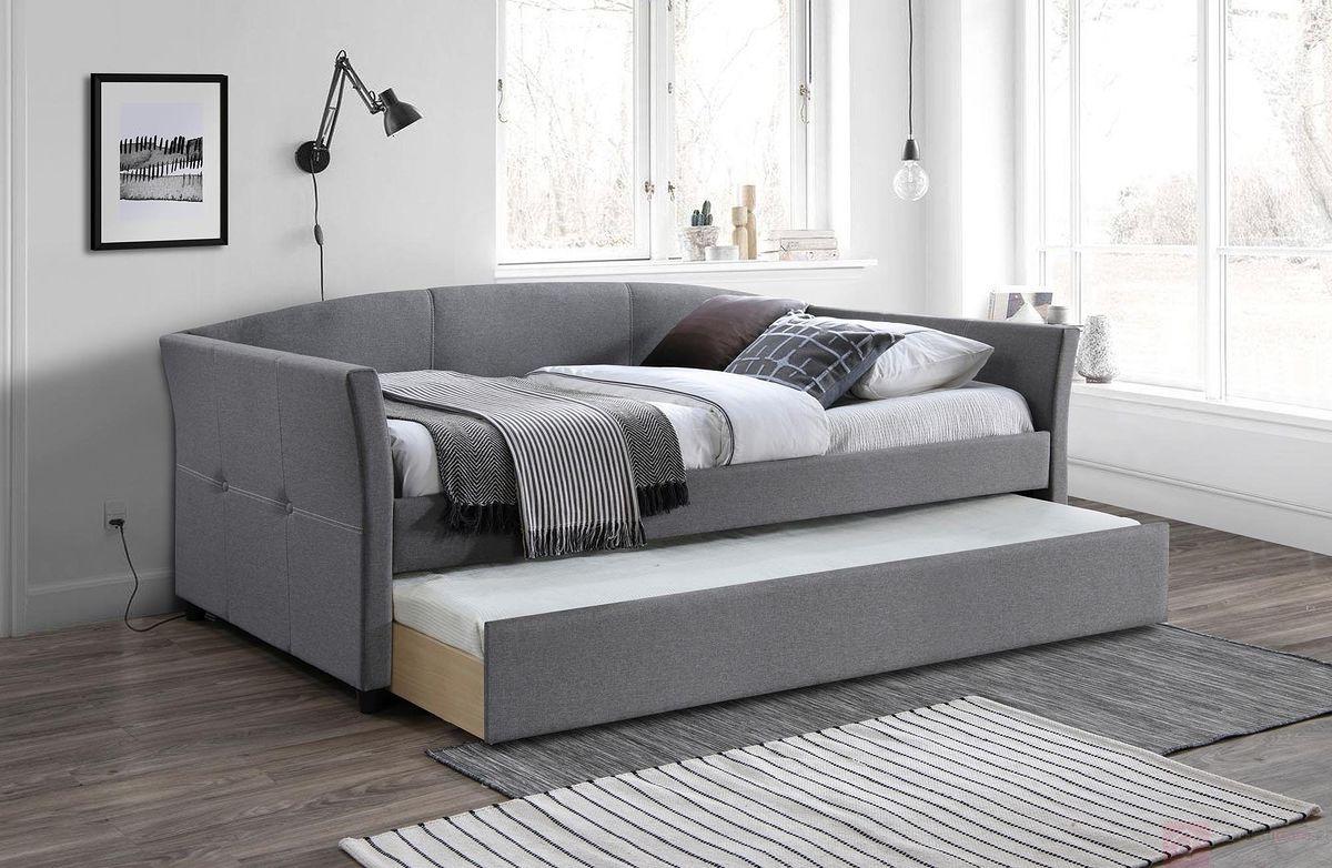 Łóżko SANNA 90 Halmar popiel