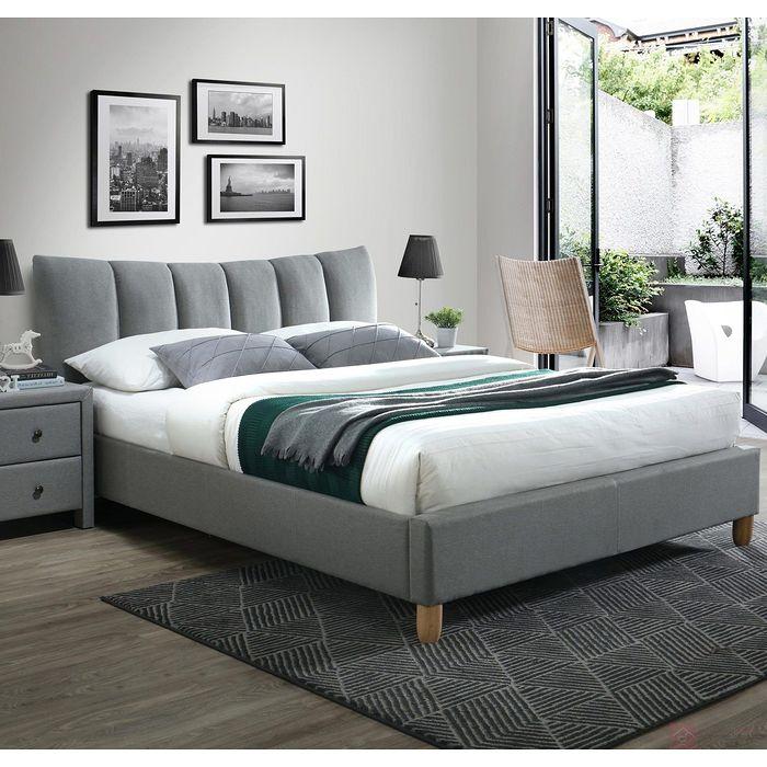 Łóżko SANDY 2 160 Halmar popiel