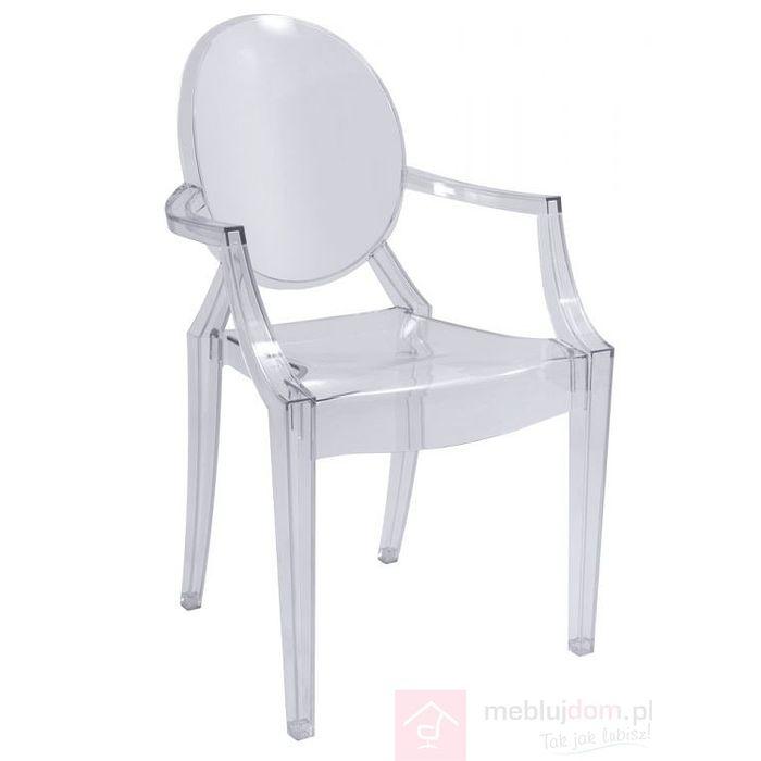 Krzesło LUIS Signal Przezroczysty