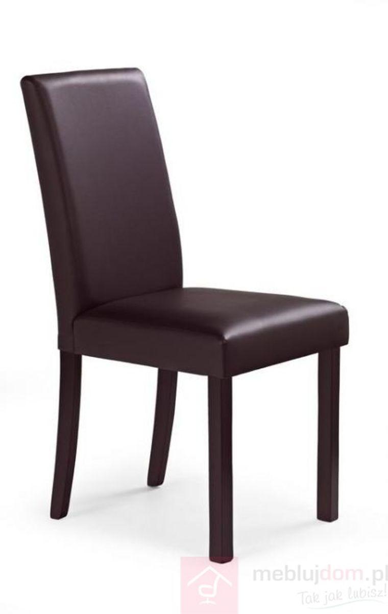 Krzesło NIKKO Halmar Brąz ciemny