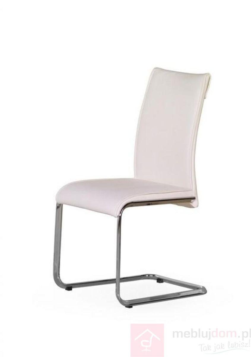 Krzesło PAOLO Halmar Biały