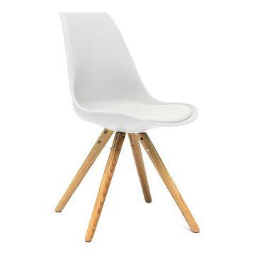 Krzesło AC-08N białe