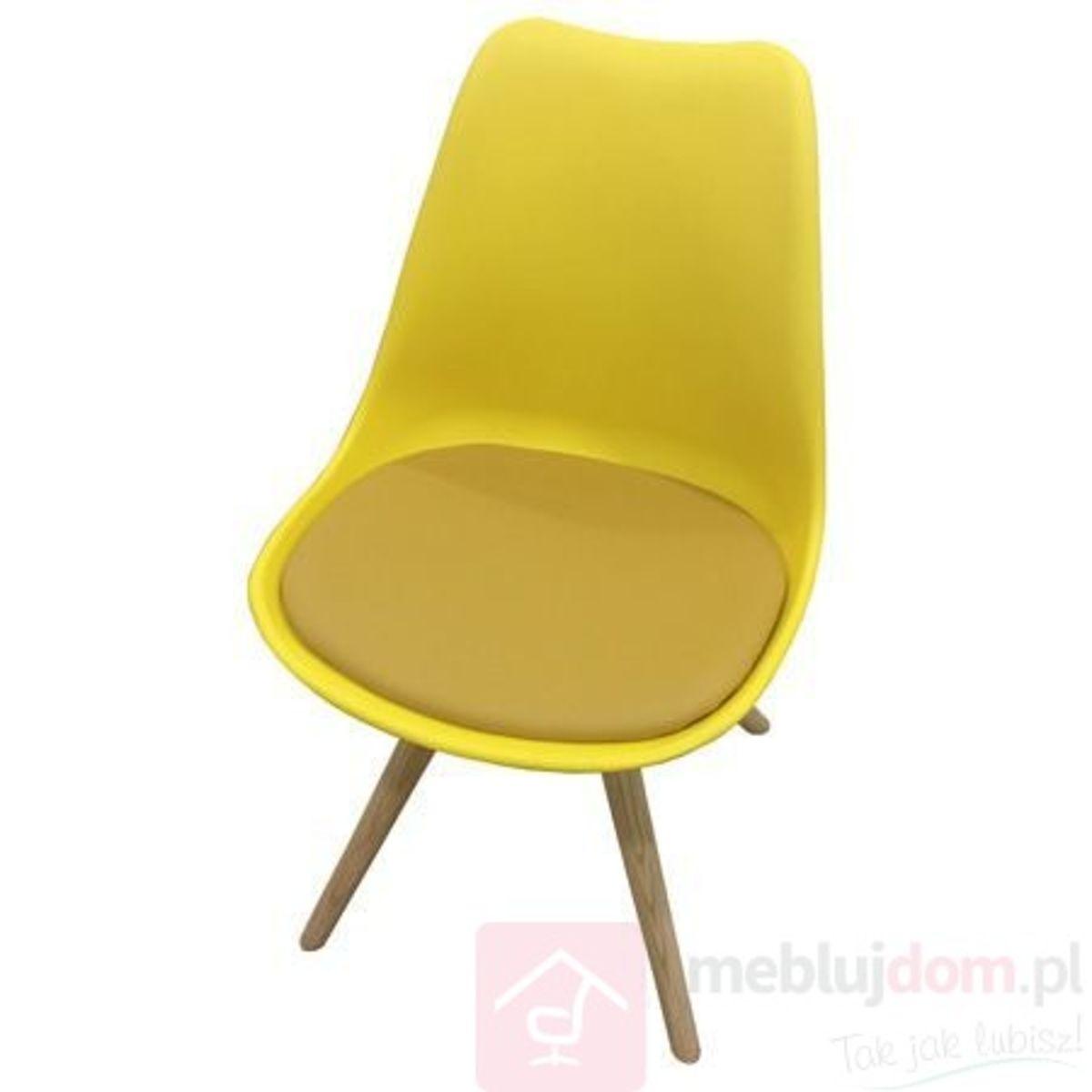 Krzesło AC-08N żółte