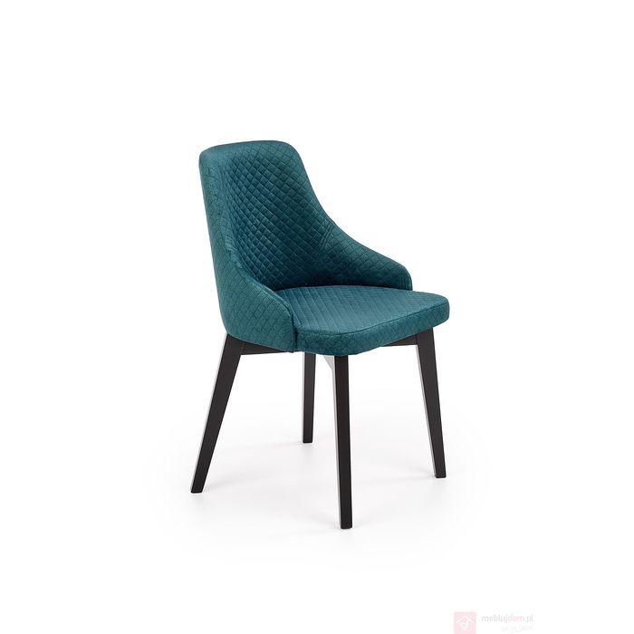 Krzesło tapicerowane TOLEDO 3 Halmar zieleń