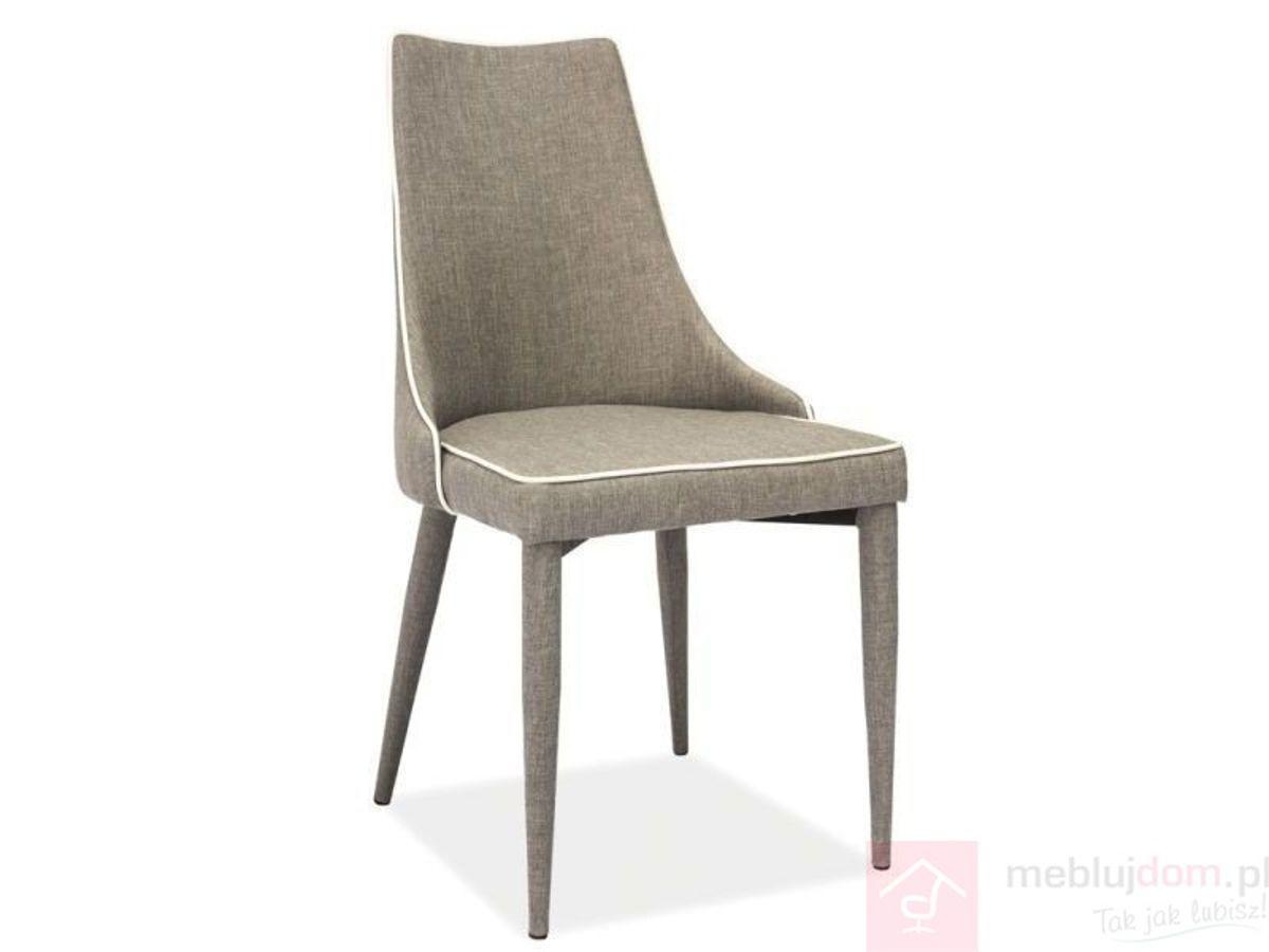 Krzesło SOREN Signal tkanina Szary