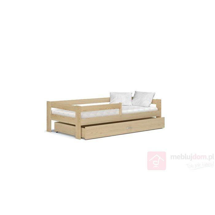 Łóżko parterowe z szufladą HUGO I