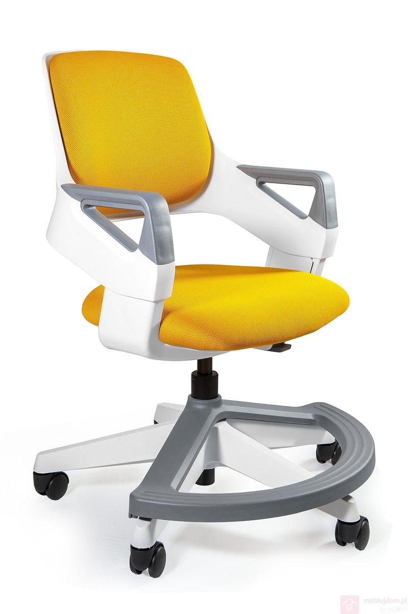 Fotel regulowany ROOKEE Unique dziecko BL404 miodowy żółty