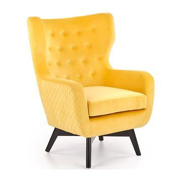 Fotel MARVEL Halmar żółty