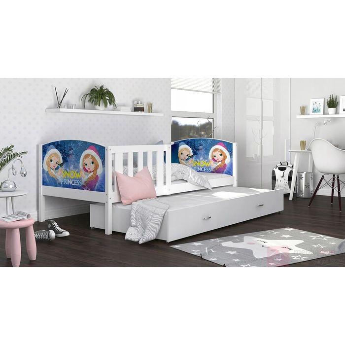 Łóżko parterowe TAMITU podwójne