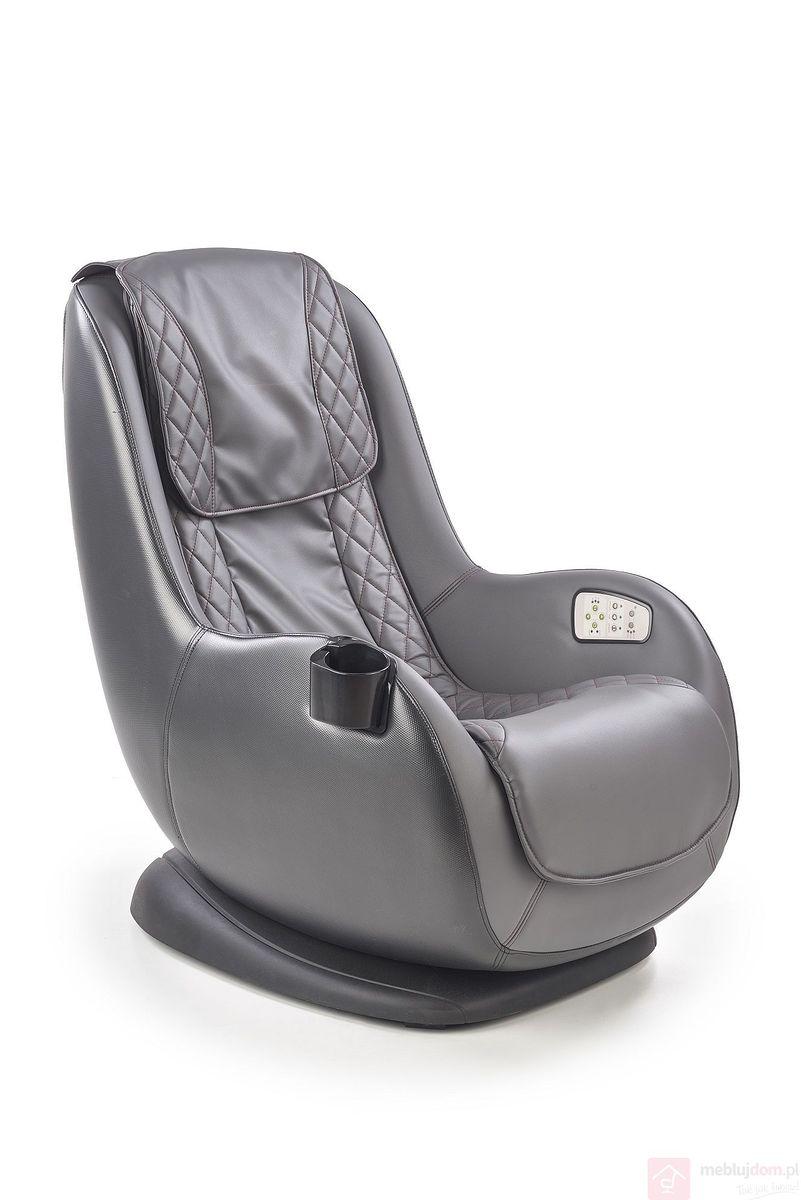Fotel masujący DOPIO Halmar popiel-popielaty