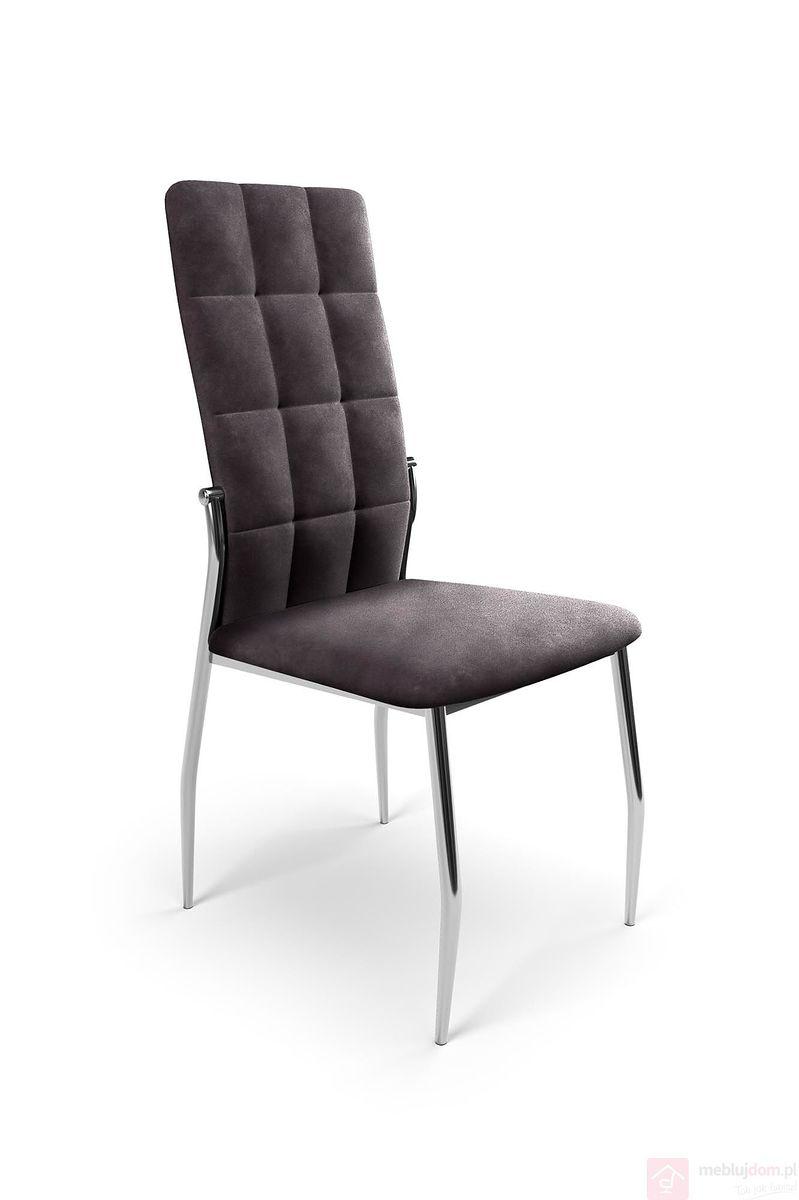 Krzesło K-416 Halmar popielaty