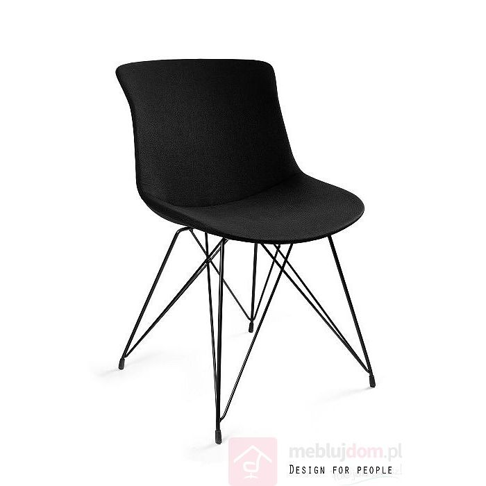 Krzesło EASY BR Unique czarne