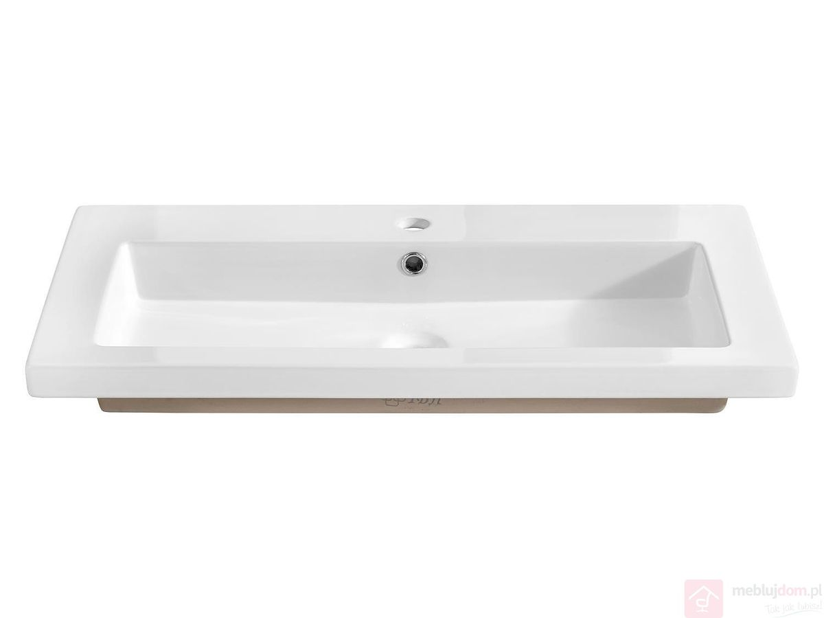 Umywalka ceramiczna SPIRIT WHITE 80 cm