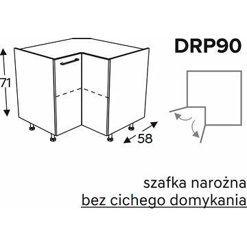 Szafka KAMMONO DRP90 narożna