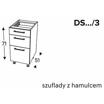 Szafka dolna KAMMONO CLASSIC DS3