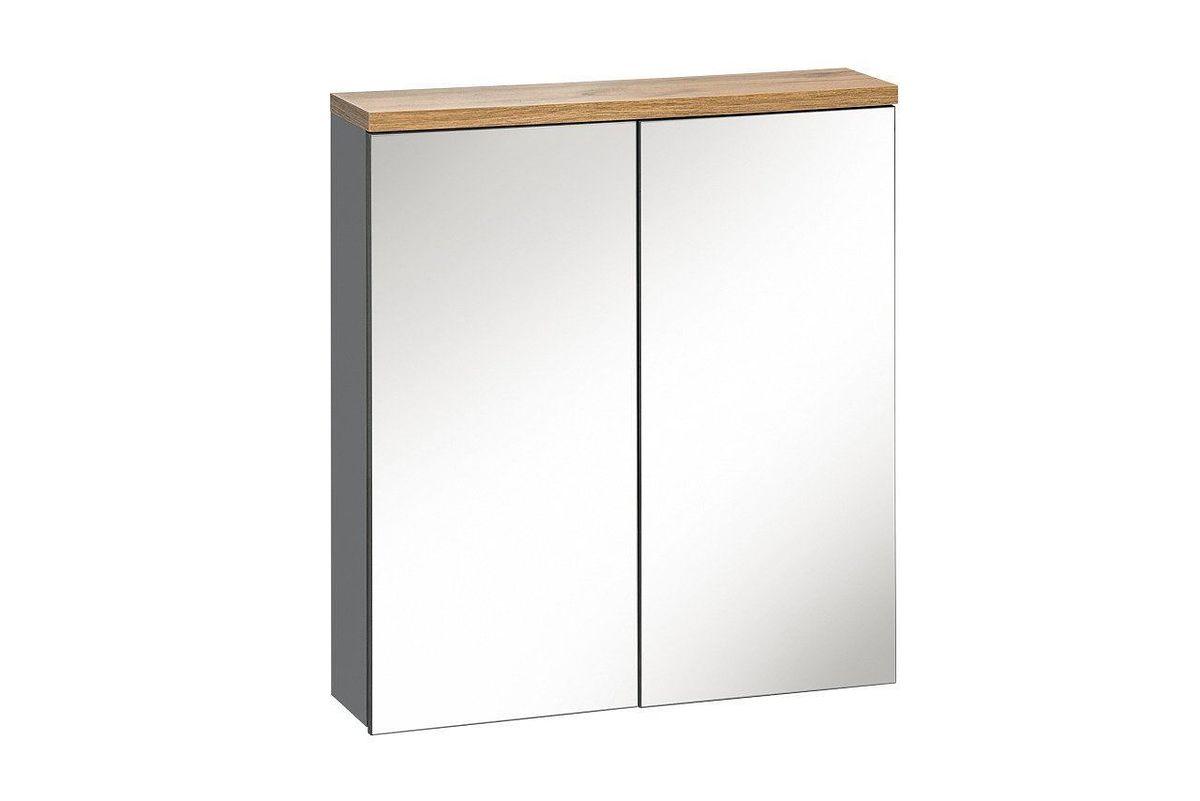 Szafka z lustrem BALI GREY 840 60  2D