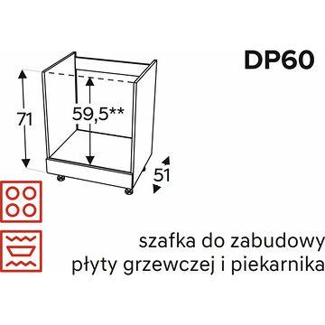 Szafka dolna KAMMONO CLASSIC DP60