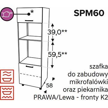 Szafka dolna KAMMONO CLASSIC SPM60