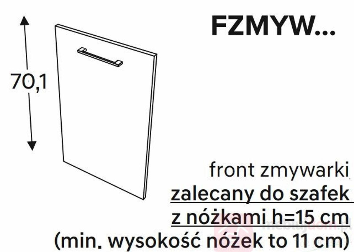 Front zmywarki KAMMONO CLASSIC FZMYW