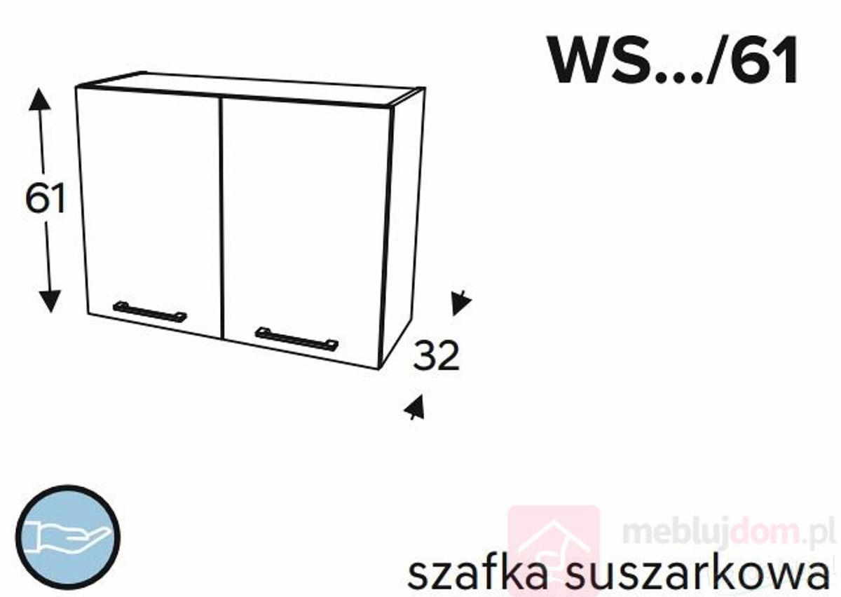 Szafka górna KAMMONO CLASSIC WS 61