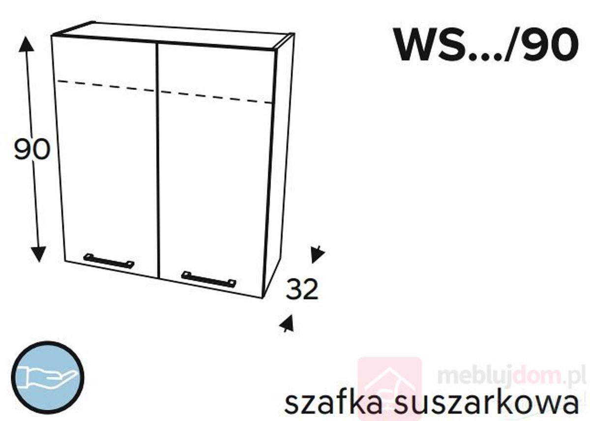 Szafka górna KAMMONO CLASSIC WS 90