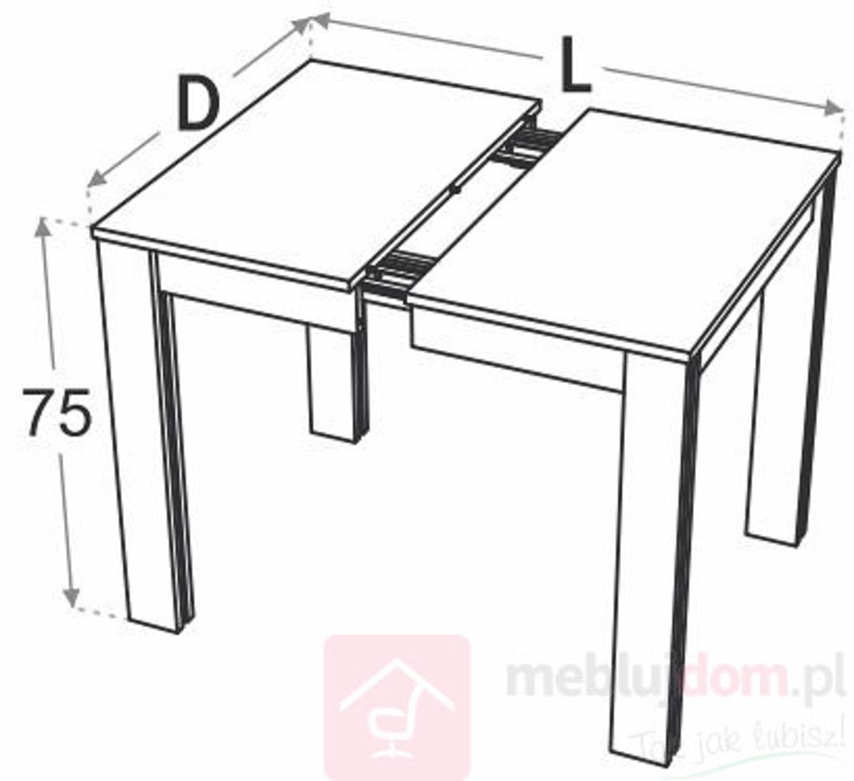 Stół rozkładany kuchenny OS