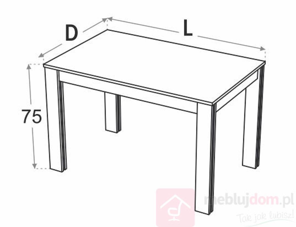 Stół kuchenny DML