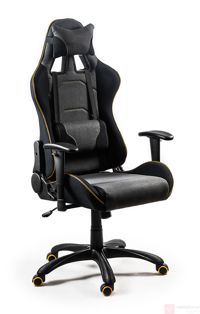Fotel gamingowy materiałowy EVOLVE GAMING PRO
