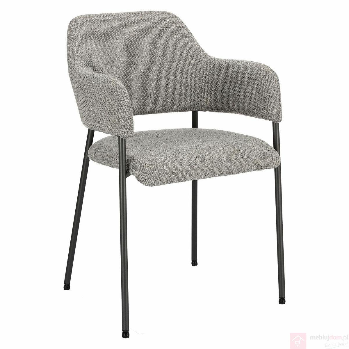 Krzesło Gato jasnoszare