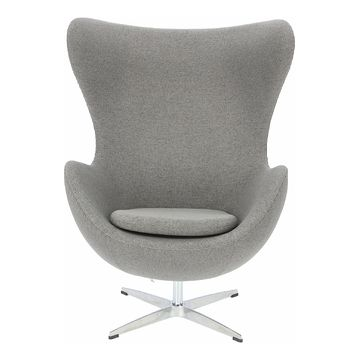 Fotel Jajo Easy Clean Premium szary jasny