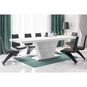 Stół rozkładany VEGA 160 Biały Rozkładany