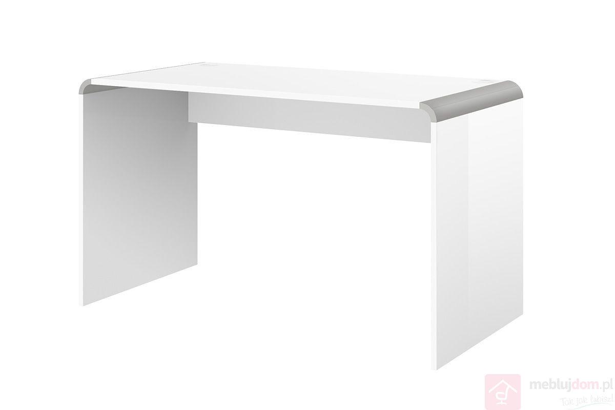 BIURKO/STOLIK MANICURE 100 Biały + Srebrny