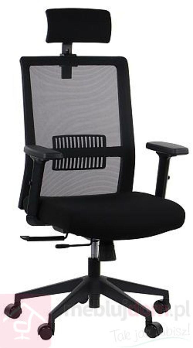 Fotel obrotowy ERGON 2 Sitplus Siatka czarny