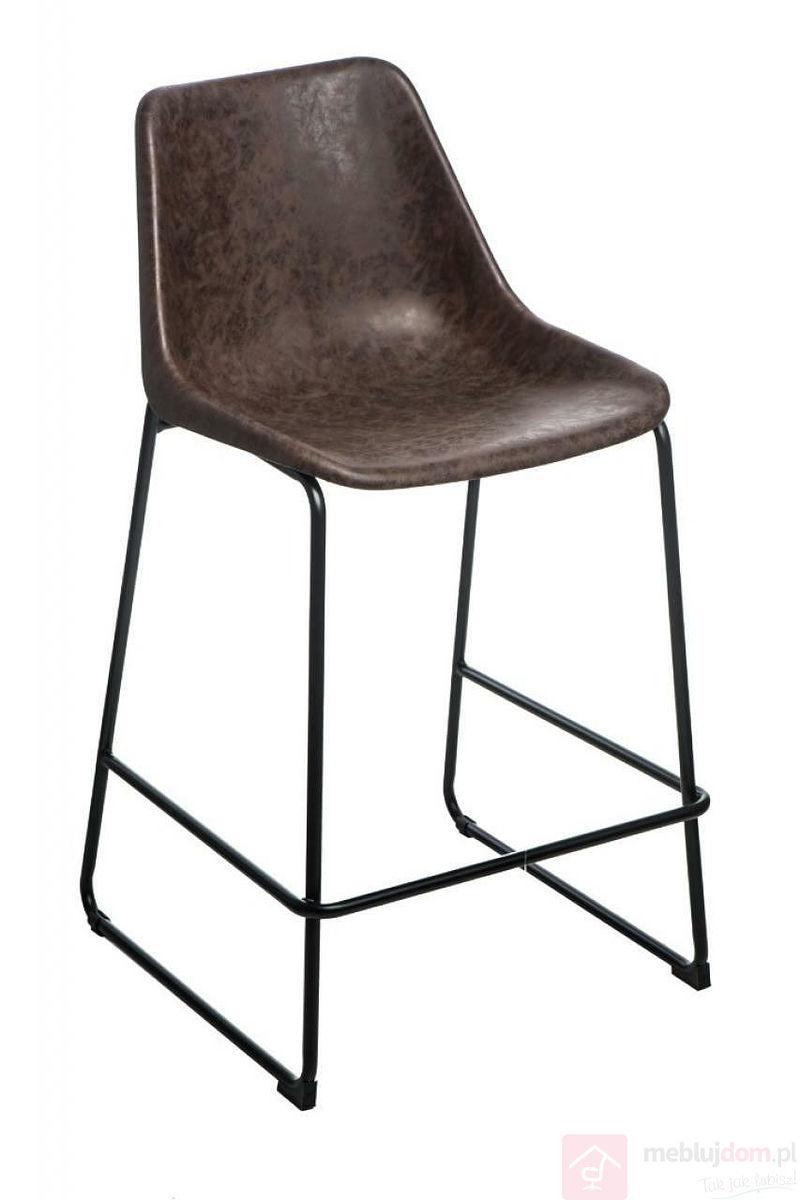 Krzesło barowe BRITY VINTAGTE MOCHA