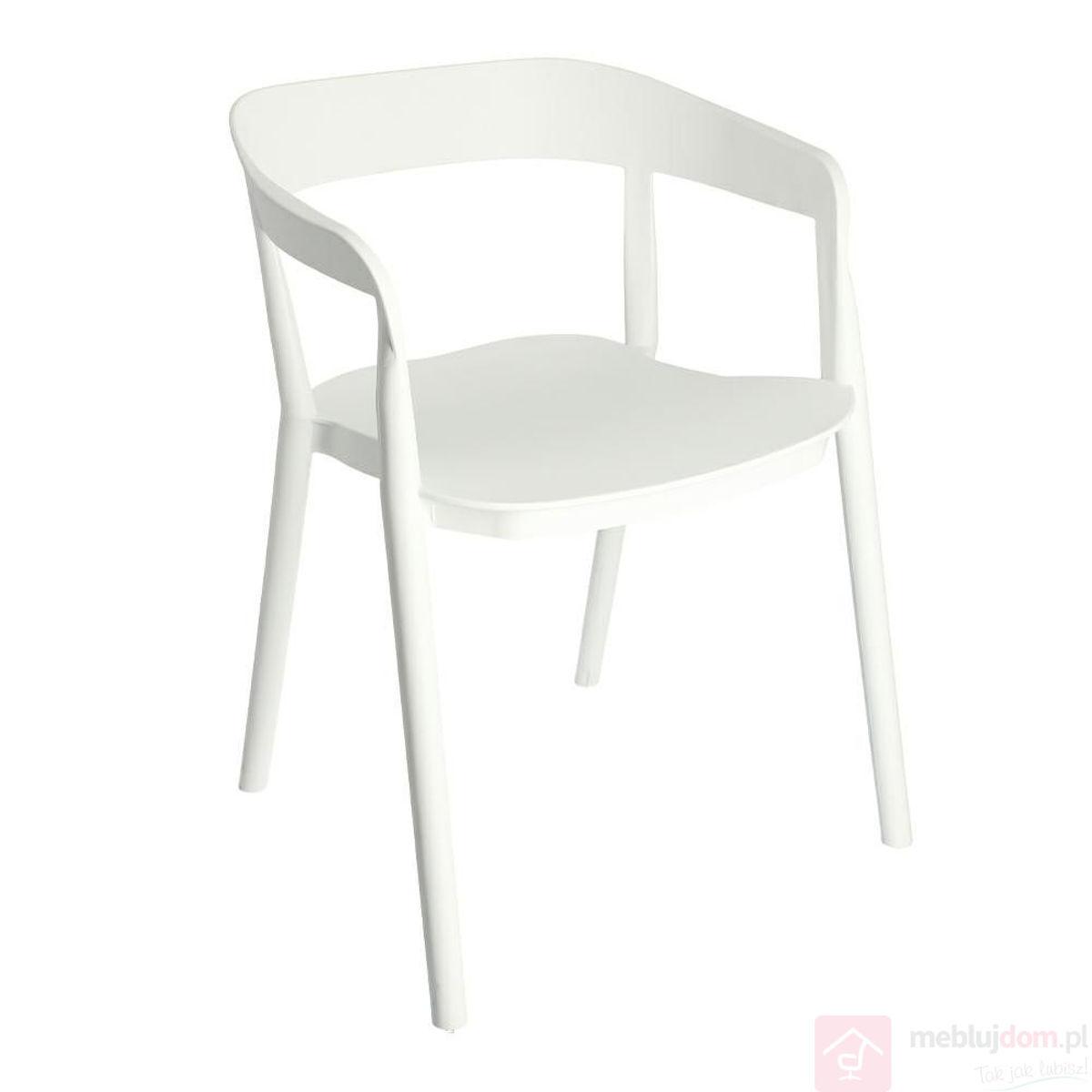 Krzesło BOW białe front