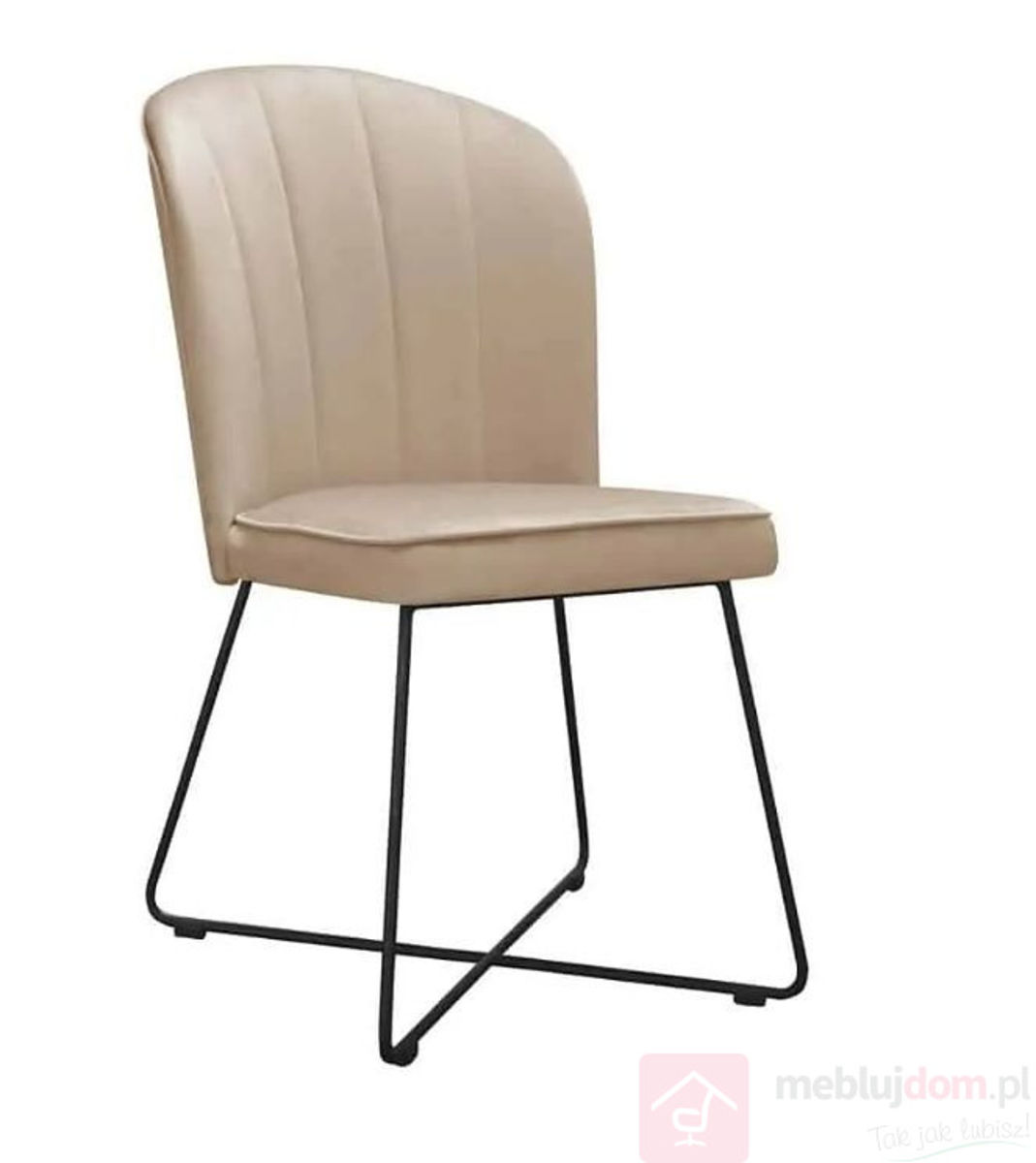 Krzesło MATYLDA CROSS beżowy
