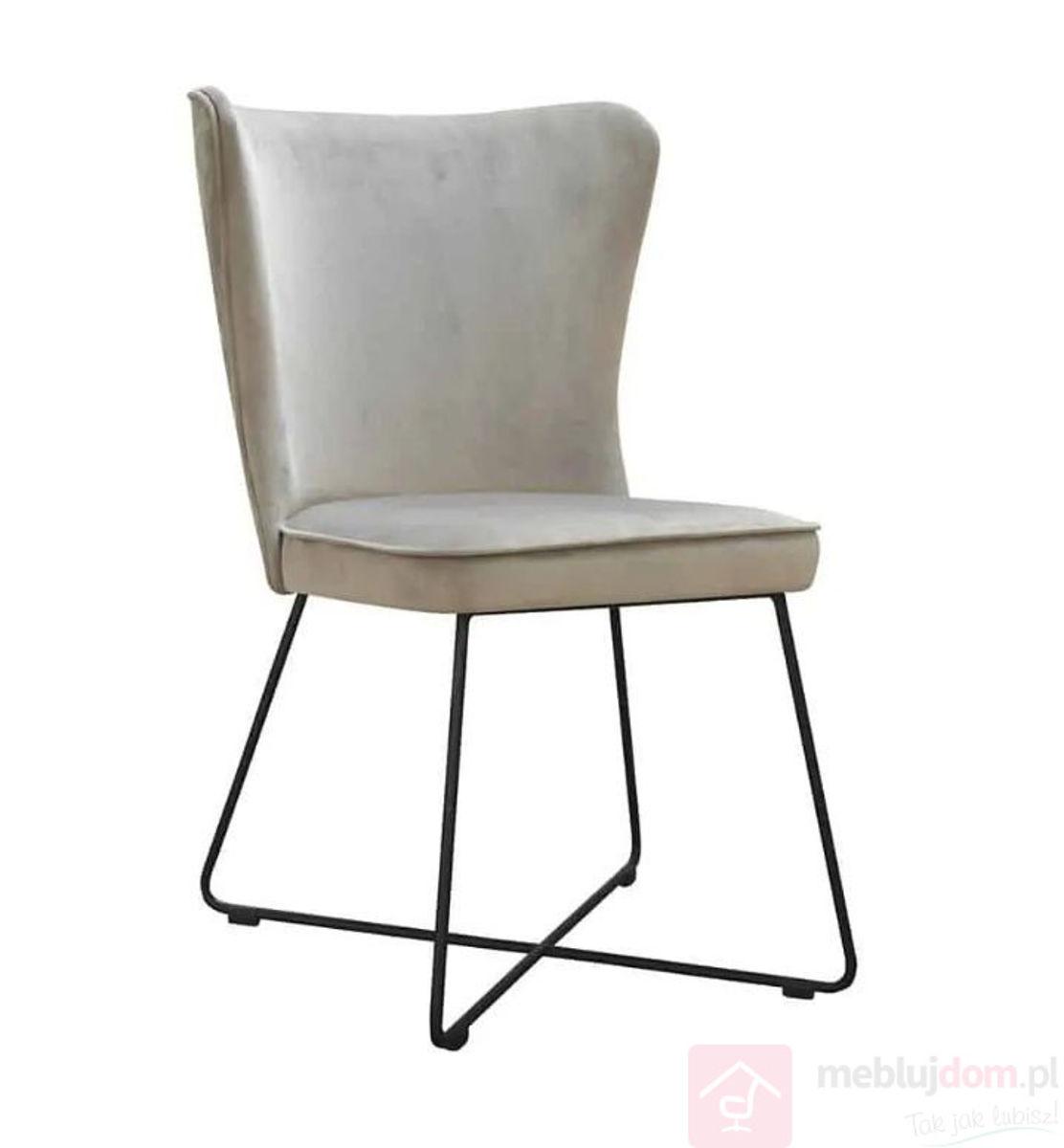 Krzesło MONTI CROSS szary