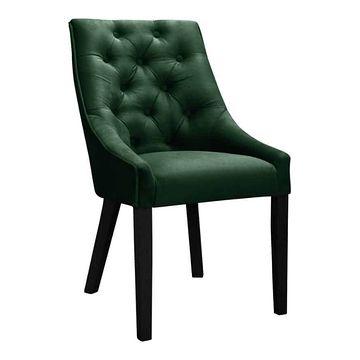Krzesło VENMIA CHESTERFIELD zielony