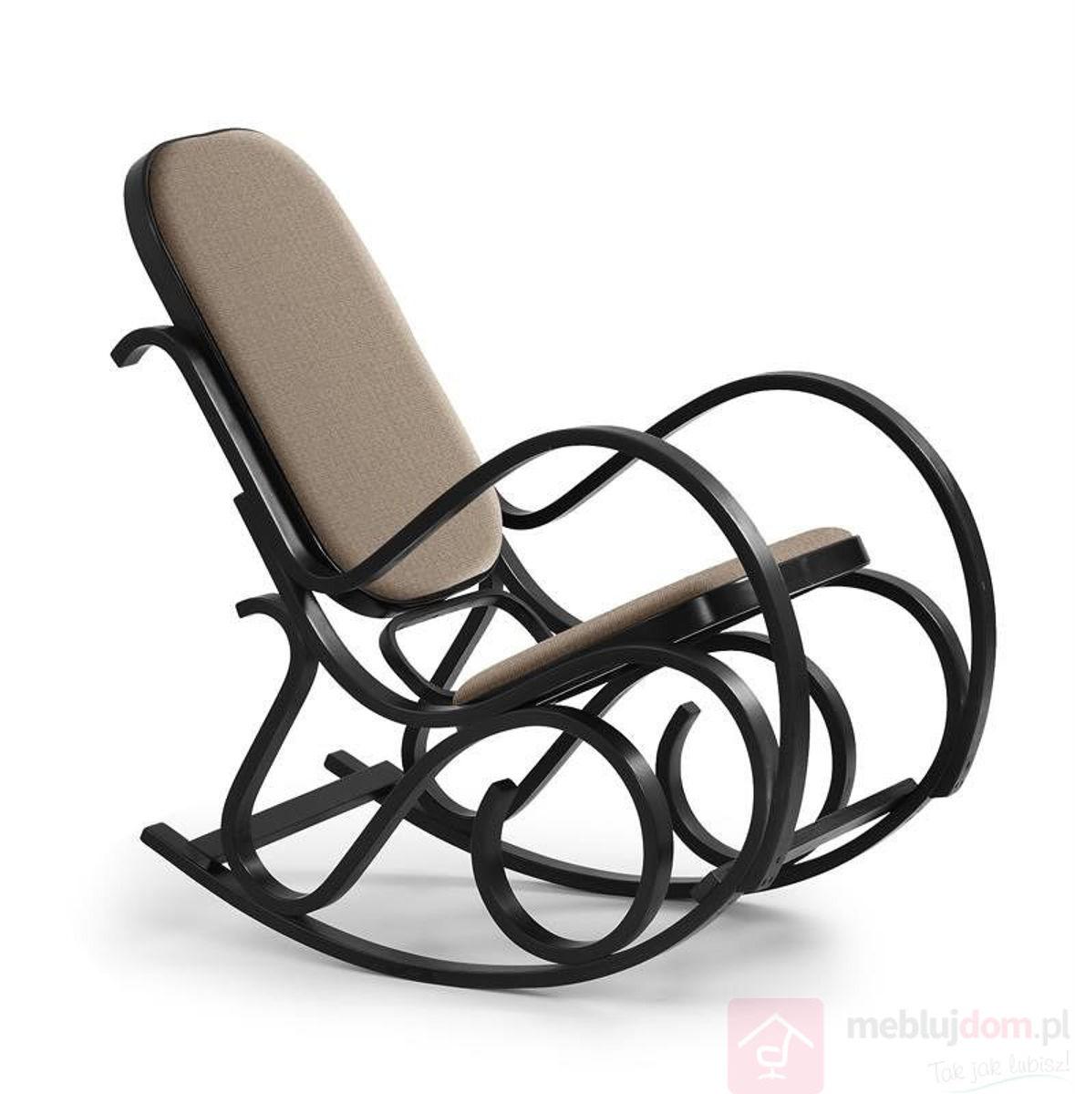 Fotel bujany MAX BIS PLUS Halmar Wenge
