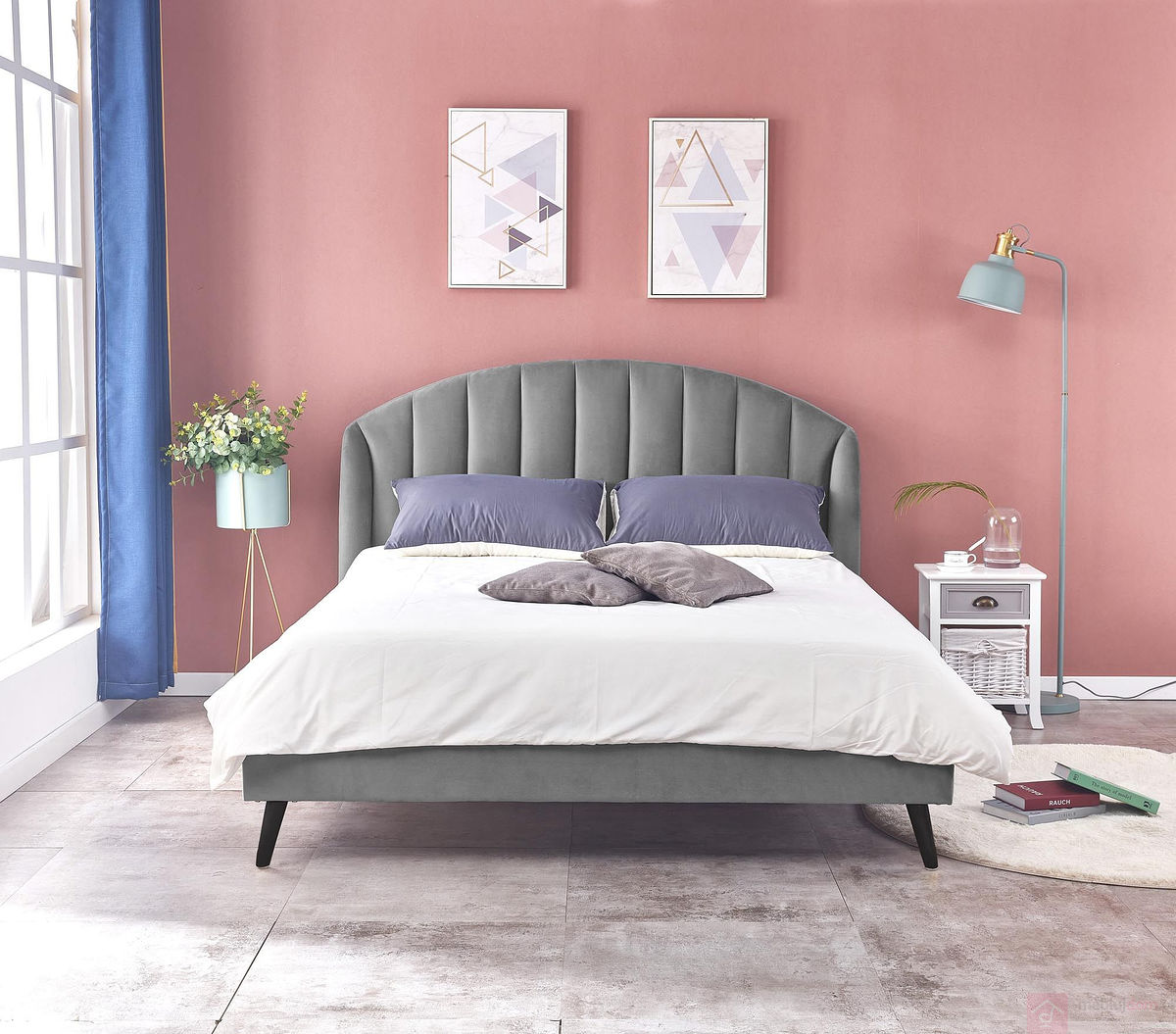 Łóżko YOVELLA 160 Halmar przodem