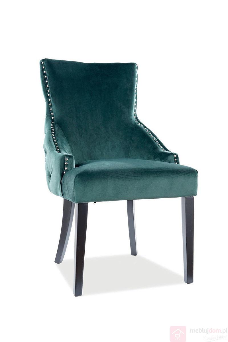 Krzesło GEORGE VELVET Signal zielone