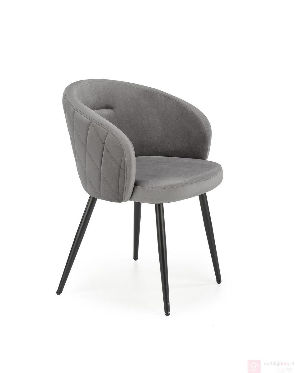 Krzesło K-430 Halmar Szare