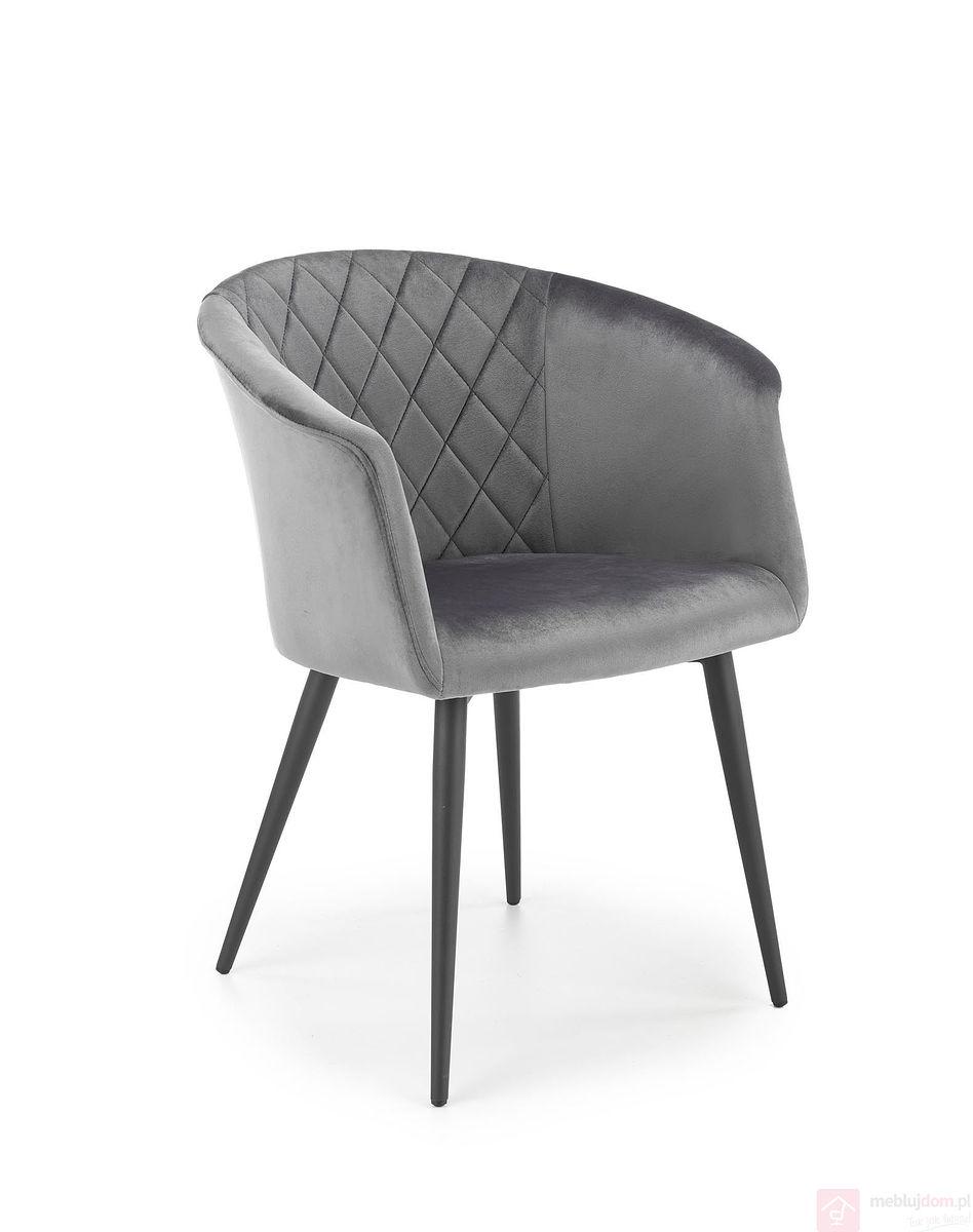 Krzesło K-421 Halmar Szary