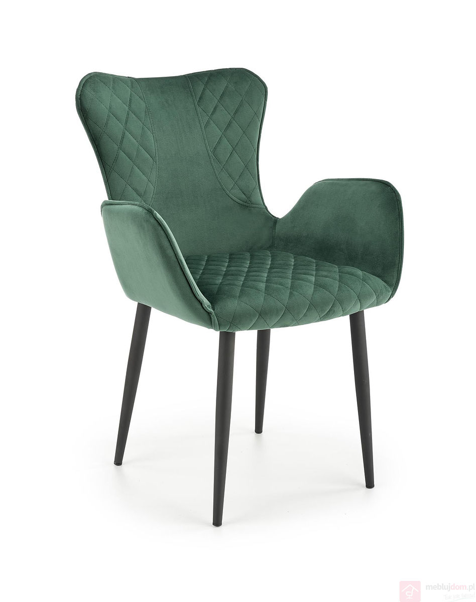 Krzesło K-427 Halmar Ciemnozielony