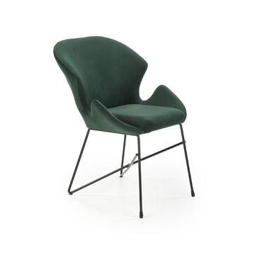 Krzesło K-458 Halmar Ciemnozielone