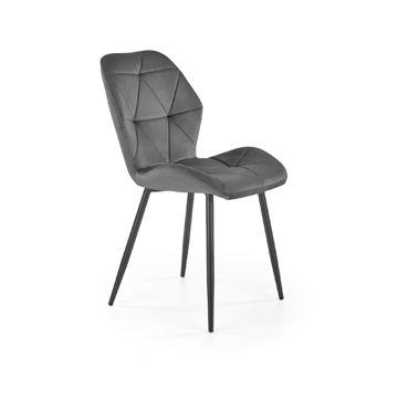 Krzesło K-453 Halmar Szary velvet